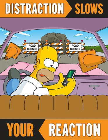 Accuform Simpsons Poster 1
