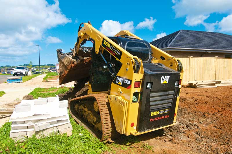 Cat 239D compact track loader