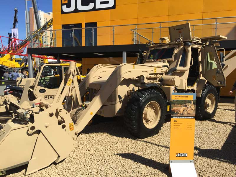 JCB HMEE backhoe loader
