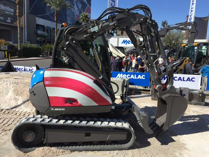 Mecalac 6MCR construction machine