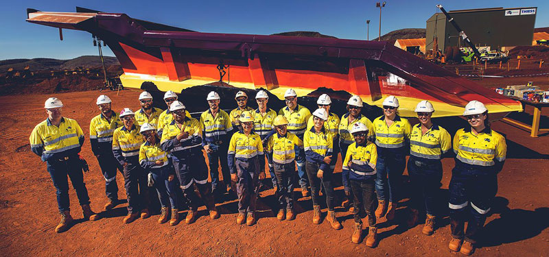 Fortescue -Thiess -haul -truck