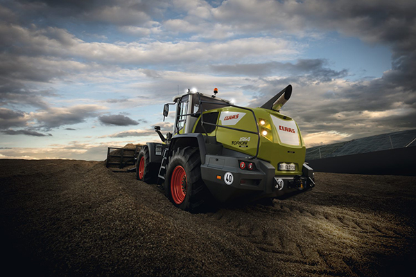 Claas Torion 1914 loader