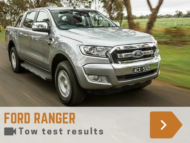 ford ranger tow test